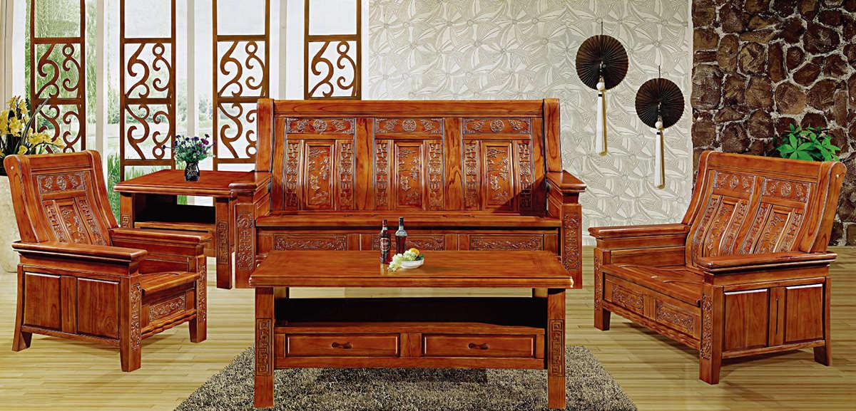 产品详情   椿木沙发 编号:307# 材质:椿木 规格 单人位840*1150*860m